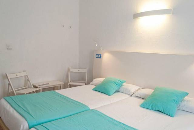 Double room with partial sea view baluma porto petro hotel